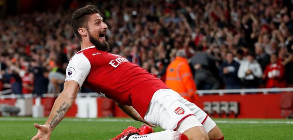 El Arsenal sufre para derrotar al Leicester