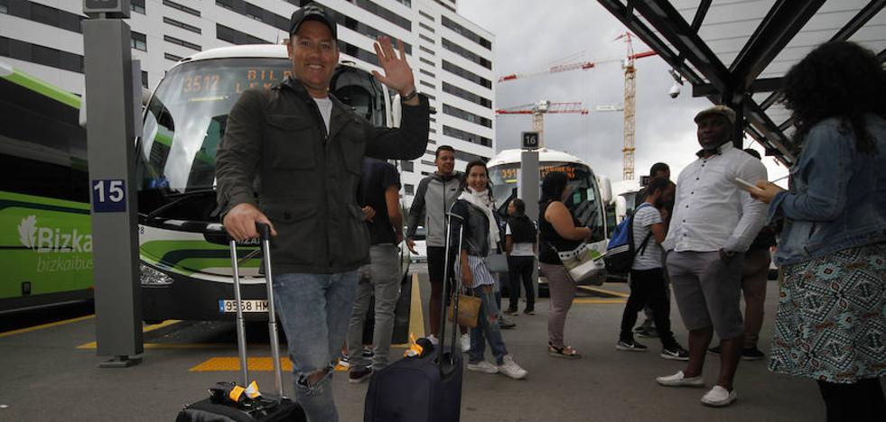 Los turistas que vienen: «¡Esto es el paraíso!»