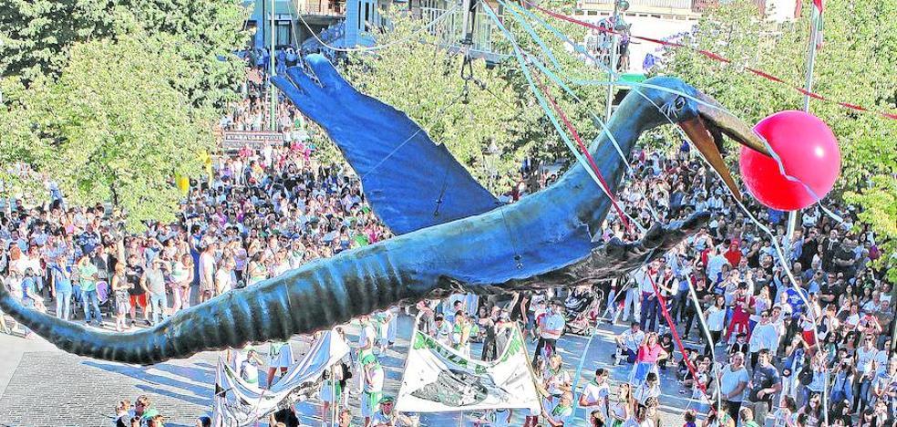 El Iguarrako vuela libre por Amurrio
