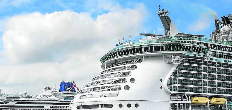5.000 pasajeros y tres cruceros menos de marzo a junio en Getxo