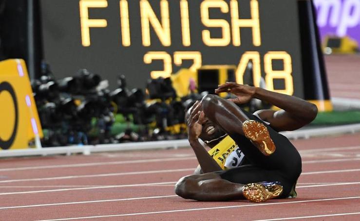 La última carrera de Usain Bolt, en imágenes