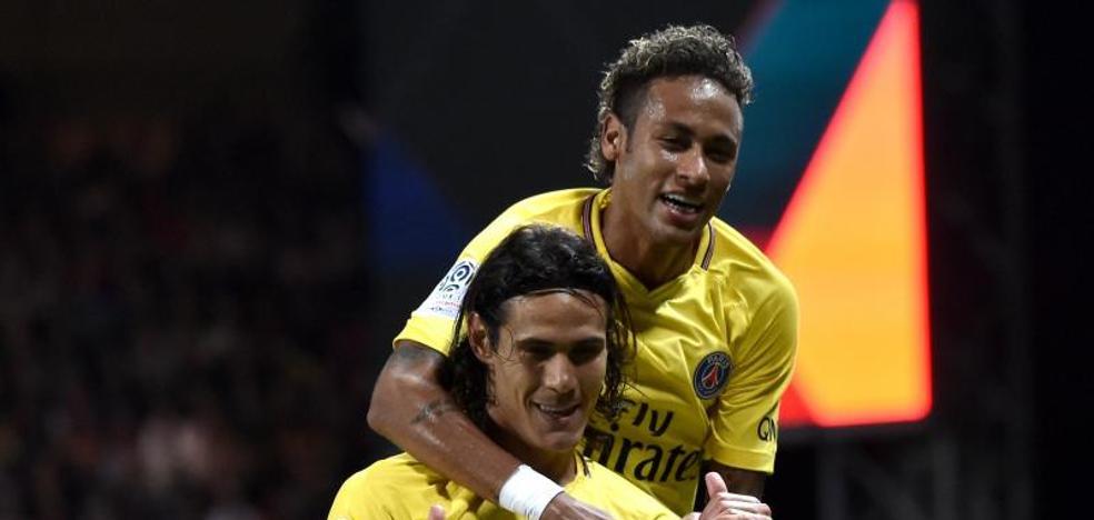 Debut exitoso de Neymar