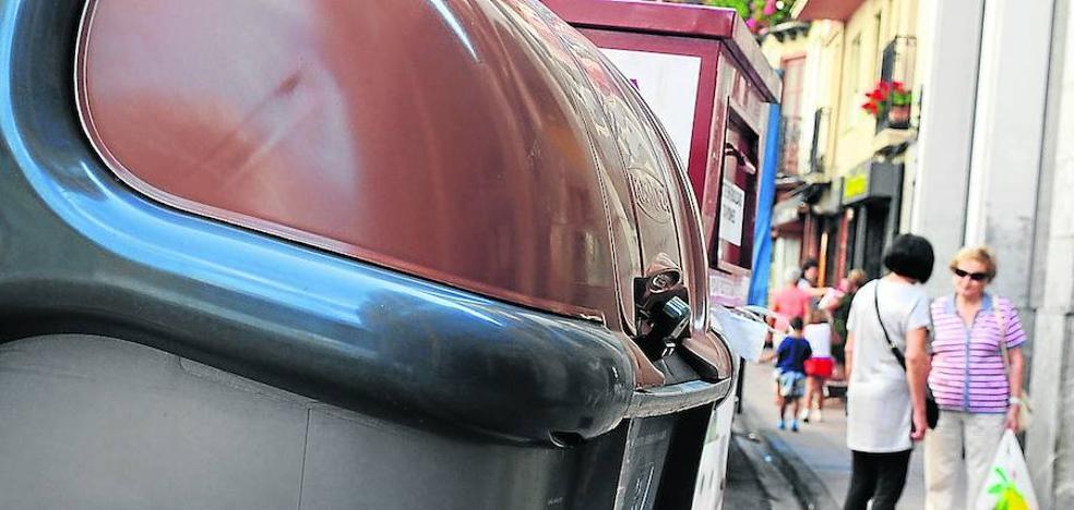 El contenedor gris con chip llegará a Eibar a finales de este año