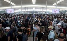 Aena elevó un 8,8% el número de pasajeros, con casi un 6% más de vuelos