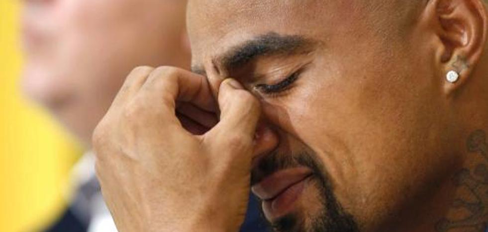 Boateng deja Las Palmas y se va al Eintracht: «Lo primero es la familia»