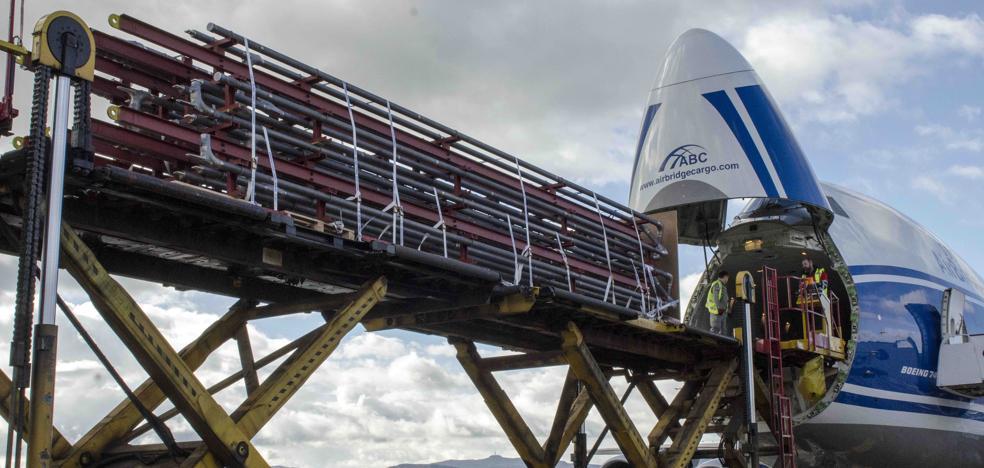 La carga crece en Foronda un 12,4% entre enero y julio
