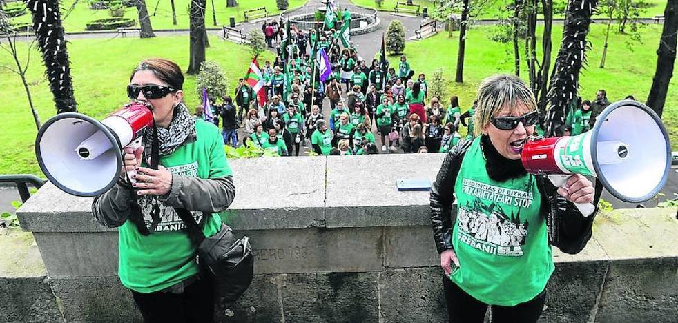 26.000 trabajadores vascos han ido a la huelga en el primer semestre del año