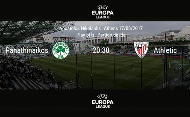 Panathinaikos - Athletic en directo: horario y TV