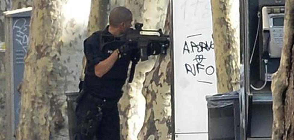 Los Mossos confirman que «no hay nadie atrincherado»