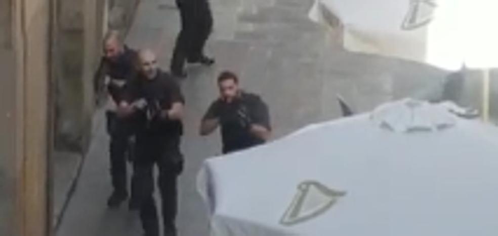 Así se ha desplegado la Policía tras el atropello en Barcelona