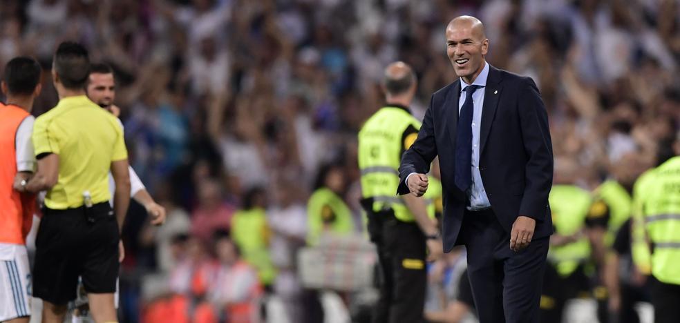 Zidane: «Estoy contento por cómo jugamos»