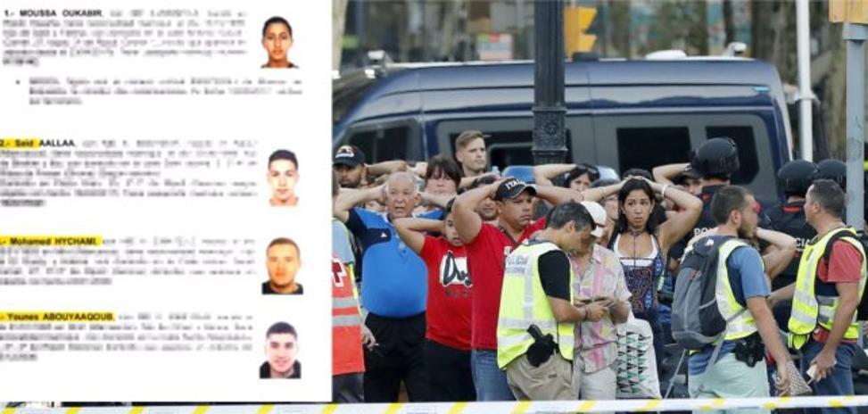 La Policía sigue el rastro de un menor de 17 años y otros tres terroristas