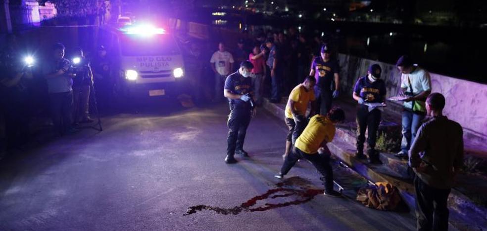 80 muertos a manos de la Policía de Filipinas en los últimos tres días
