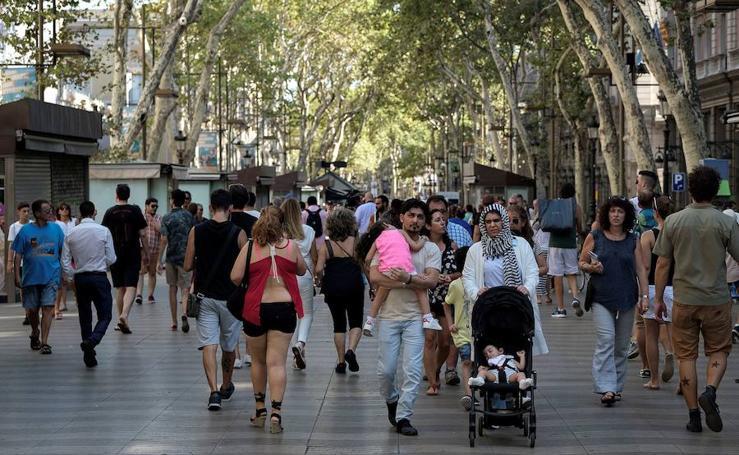 Las Ramblas vuelven a la normalidad después del atentado