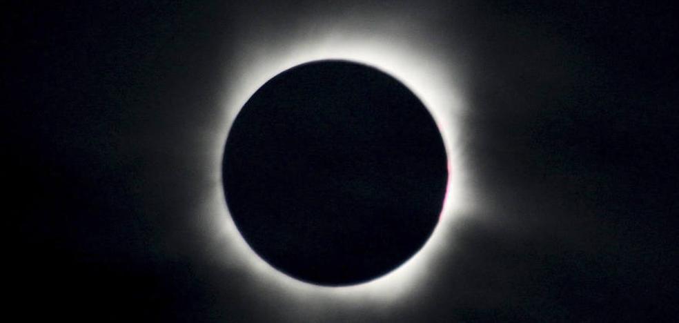 Eclipse parcial de sol en España