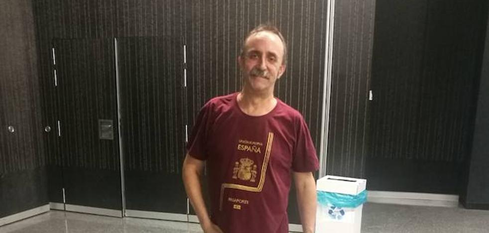 «Tengo 39 de fiebre y he pasado dos semanas muy jodidas, pero tenía que estar en Bilbao»