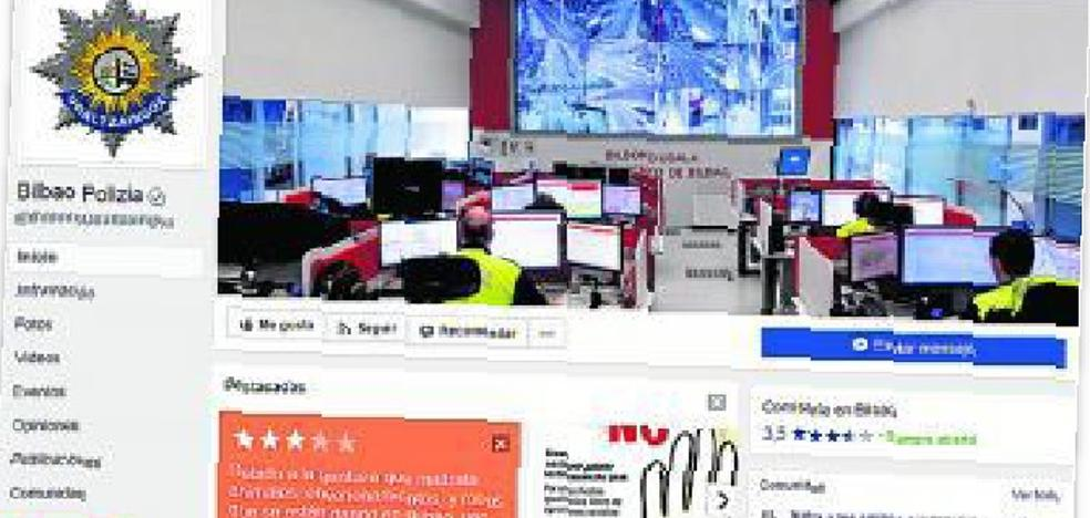 Vost Euskadi gestiona ya las redes sociales de la Policía de Bilbao