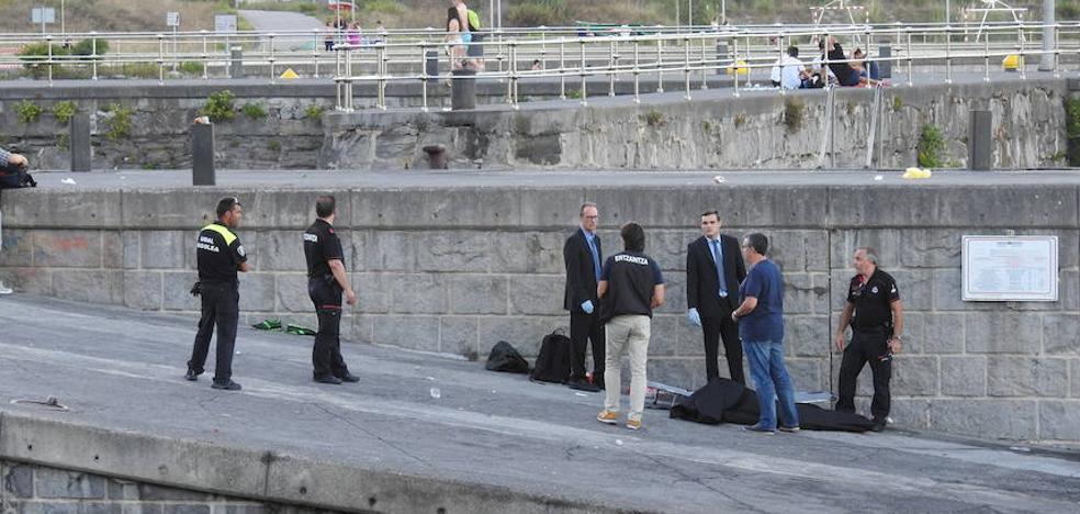 Fallece un vitoriano de 50 años tras caer por un acantilado en Zierbena