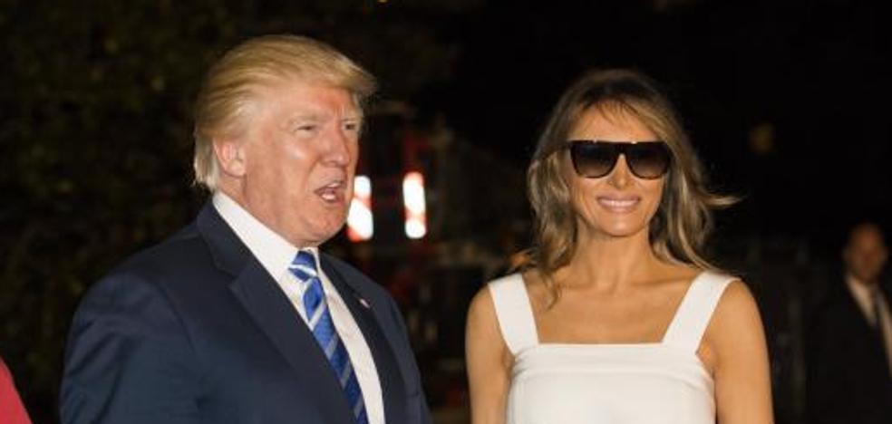 Melania Trump, con la moda española