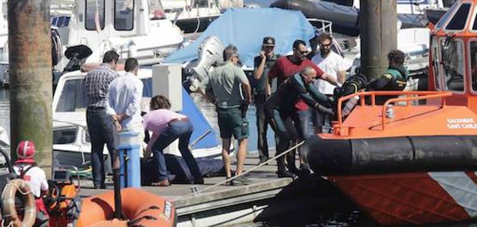 Recuperan a 50 metros de profundidad el cuerpo del buzo vizcaíno fallecido en Ribadesella