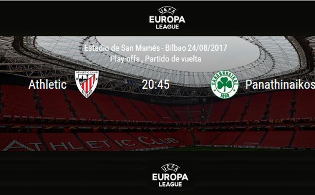 Athletic - Panathinaikos: horario y TV