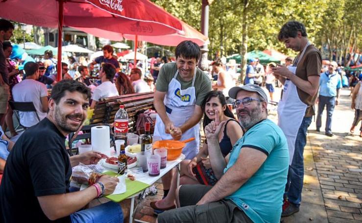 Concurso gastronómico en El Arenal