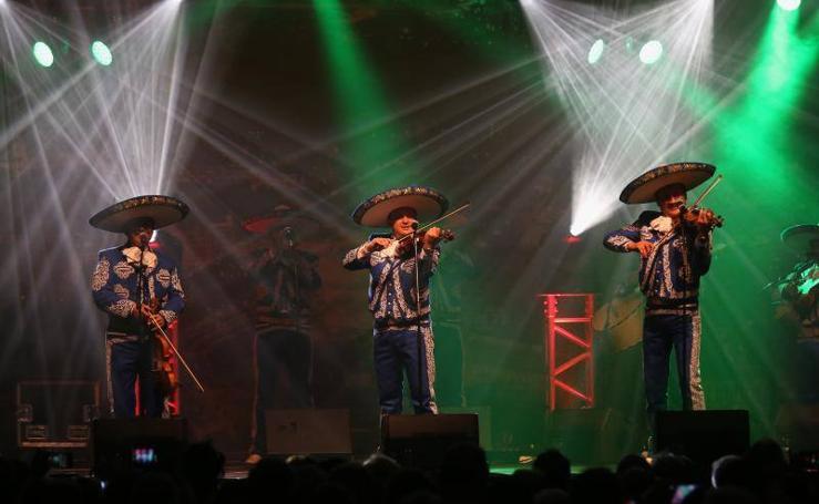 El concierto de 'El Mariachi', en imágenes