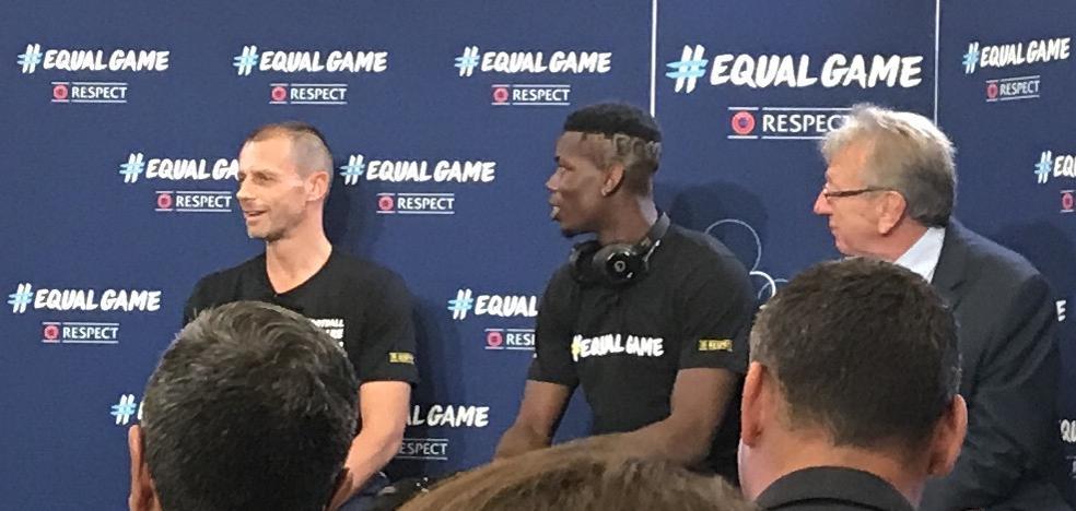 La UEFA tira de Messi, Cristiano y Pogba para lograr la igualdad