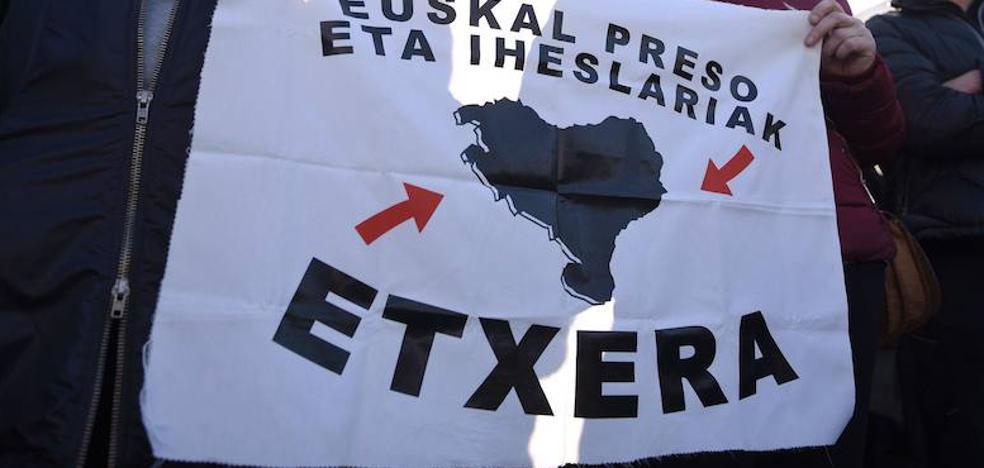 Convocada una manifestación para pedir la excarcelación de los presos de ETA
