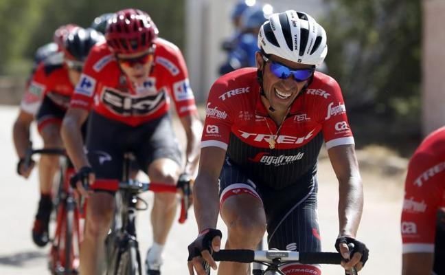 Contador se divierte y atosiga a Froome