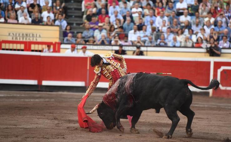 Las mejores imágenes de la corrida del sábado en Vista Alegre