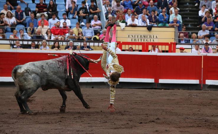 Las imágenes de la corrida del domingo en Vista Alegre