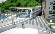 Cortes en la circulación ferroviaria por las obras de la nueva estación de Ermua