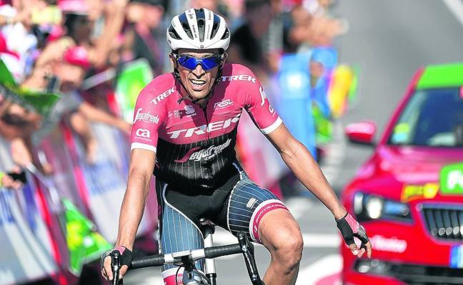 Contador enloquece la Vuelta