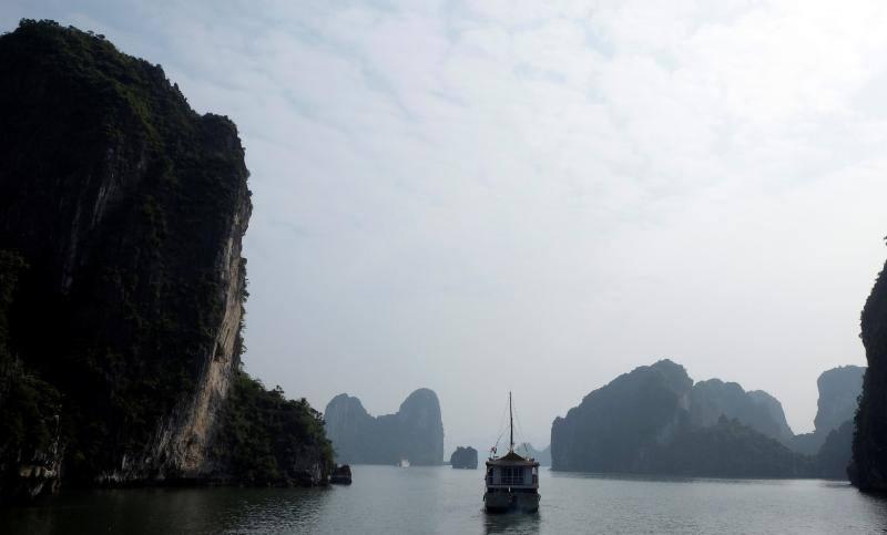 Un recorrido por la bahía de Ha Long