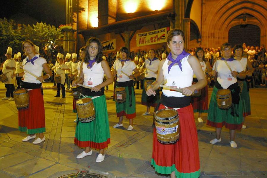 La tamborrada de Elorrio recupera la marcha infantil en su 49 edición