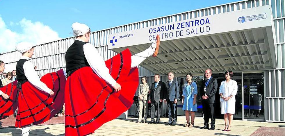 Los orduñeses ya disponen de un nuevo centro de salud en Amurrio