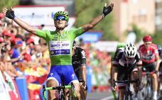 Contador anuncia un fin de semana «divertido» tras la tercera victoria de Trentin