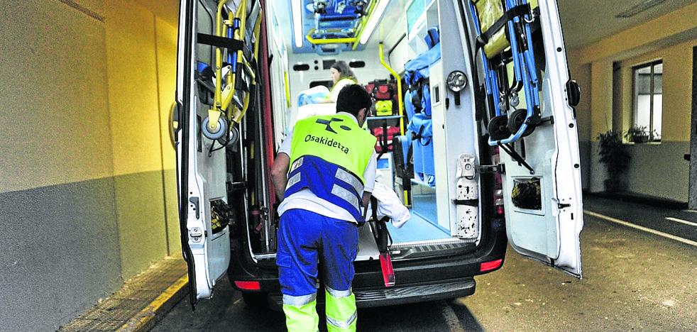 Trabajadores de emergencias de Álava denuncian deficiencias y falta de material
