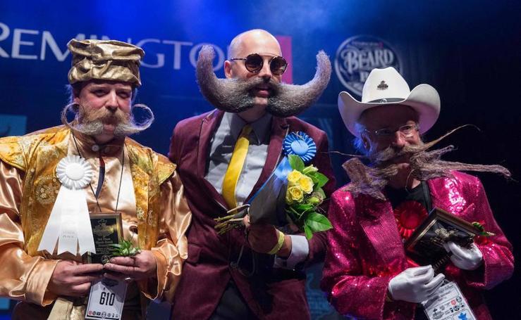 El campeonato del mundo de barbas y bigotes