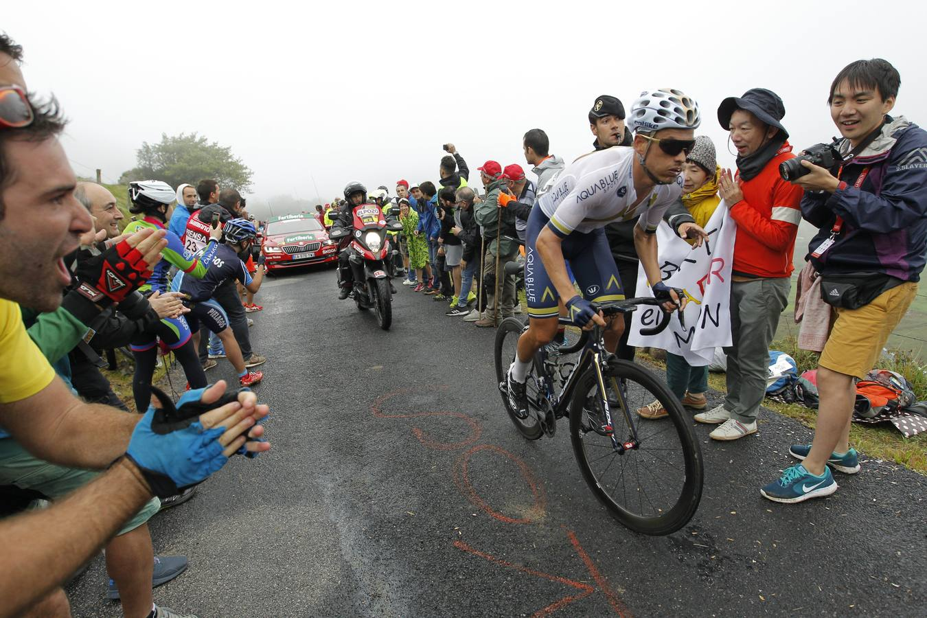 La dureza de Los Machucos en la Vuelta a España