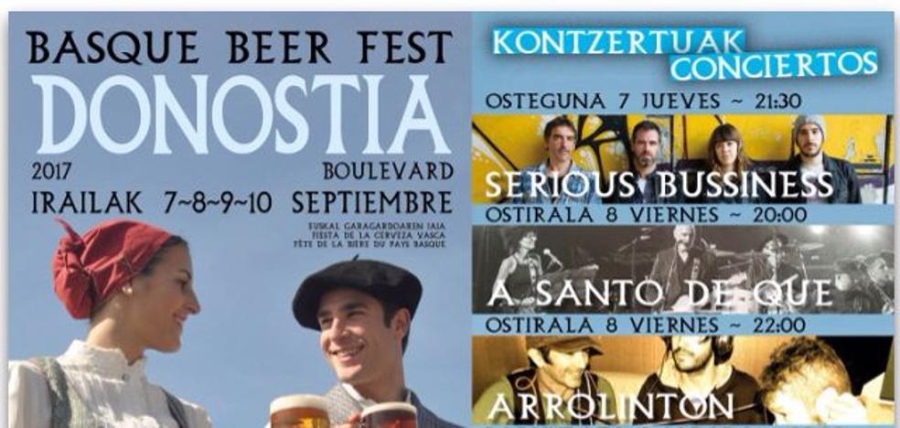 Fin de semana cañero en Donostia