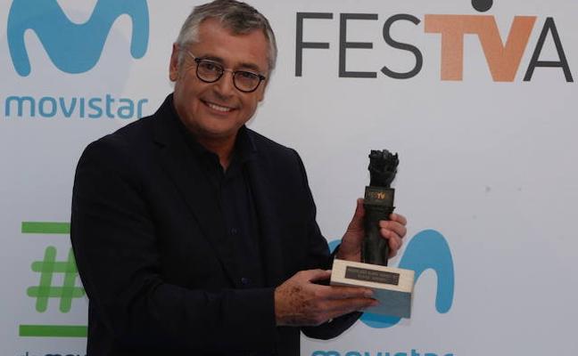 Michael Robinson, premio Mainat del FesTVal 2017, analiza los nuevos Alavés y Baskonia