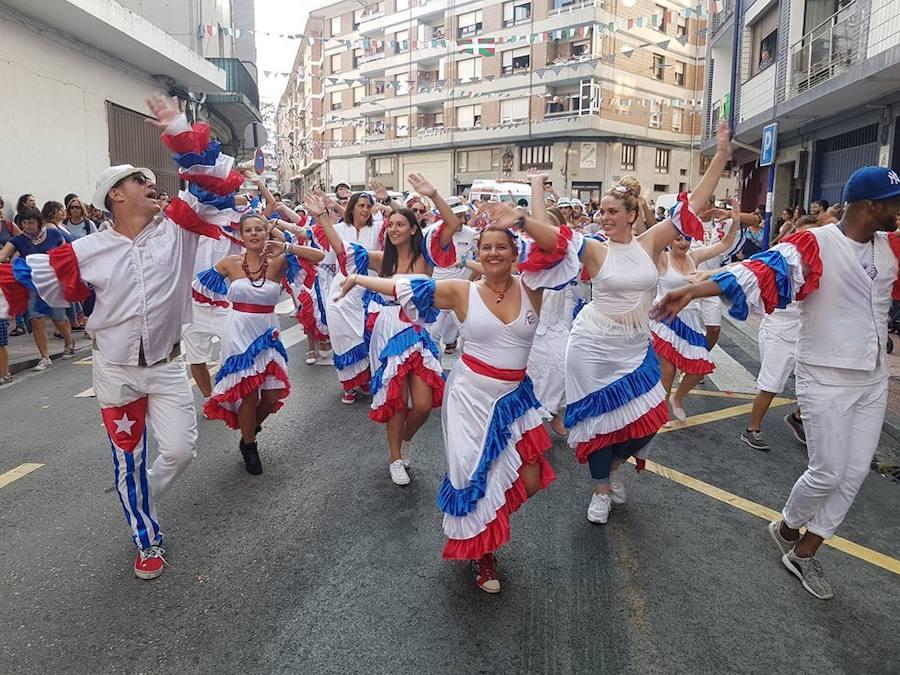 Bermeo abre sus fiestas a la cubana