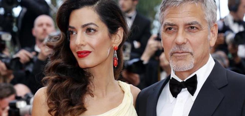 Un refugiado con los Clooney