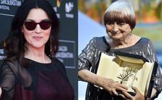 Monica Bellucci y la directora Agnès Varda, premios Donostia
