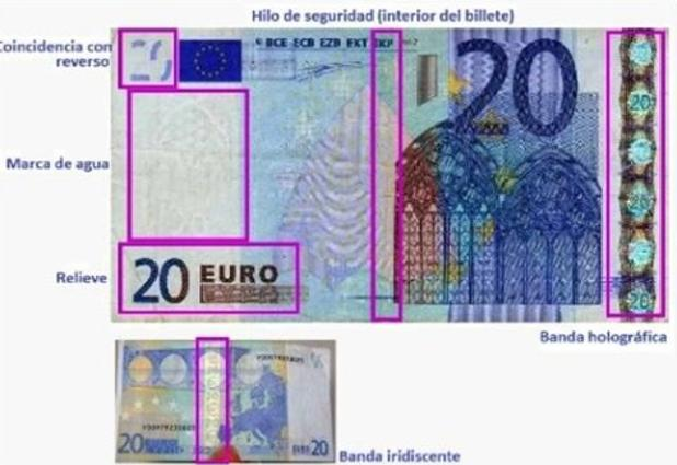 El billete falso.