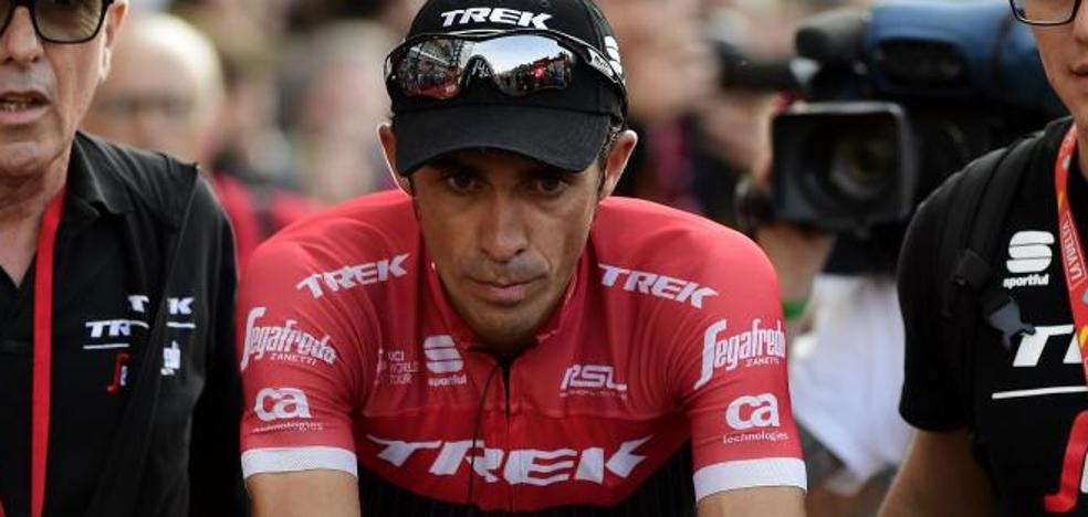 Contador quiere volver «loco» el Angliru