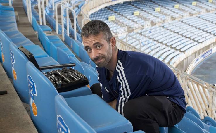 Rubén, de 'sin techo' a cuidar de Anoeta