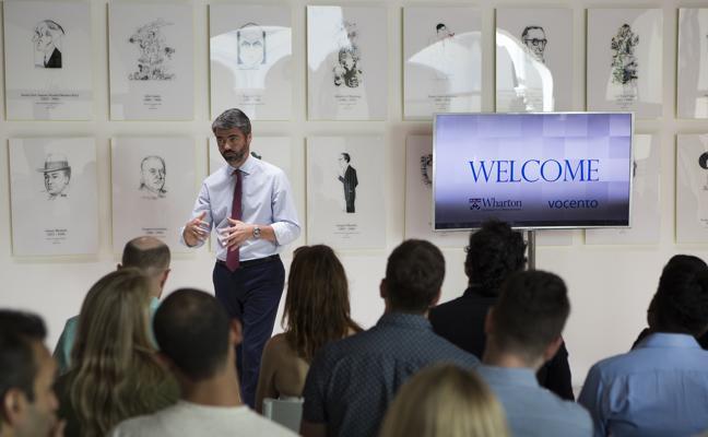 Vocento recibe a los alumnos del MBA de la Escuela de Negocios Wharton de la Universidad de Pennsylvania, una de las más importantes de EE UU